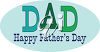 Clipart Image of a Father's Day Sign