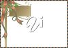 A festive border with blank space clipart