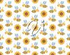 Tiled Clipart Image of a Spring Background
