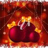 Clipart Illustration of Christmas Baubles