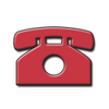Embossed Telephone Shape clipart