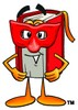 Masked Cartoon Book Character clipart
