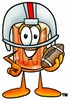 Cartoon Beer Mug Character Playing Football clipart