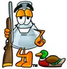 A hunting beaker clipart