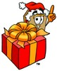 A box and a present clipart