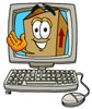 A box in a computer clipart