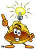Hard Hat Cartoon Character With an Idea clipart
