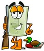 Light Switch Cartoon Character Duck Hunting clipart