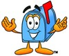 Mail Box Cartoon Character clipart