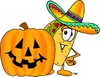 Cartoon Taco Character clipart