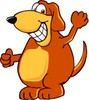 Cartoon Dog Character clipart
