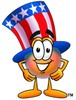Uncle Sam Character clipart