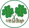 """Erin Go Bragh"" Irish Button clipart"