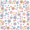 Floral Wallpaper or Background clipart