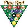 Clip Art Illustration of Racked Pool Balls clipart