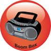 Portable Stereo Icon clipart