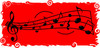 Musical Notes Design clipart