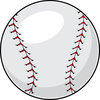 clip art illustration of a baseball clipart