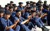 Iraqi Soldiers Clapping. clipart