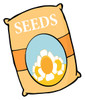 flower seeds clipart
