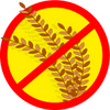 symbol showing this product does not contain wheat clipart