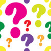 colorful question marks clipart